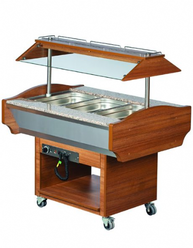 Blizzard Hot Buffet Display GB3-HOT